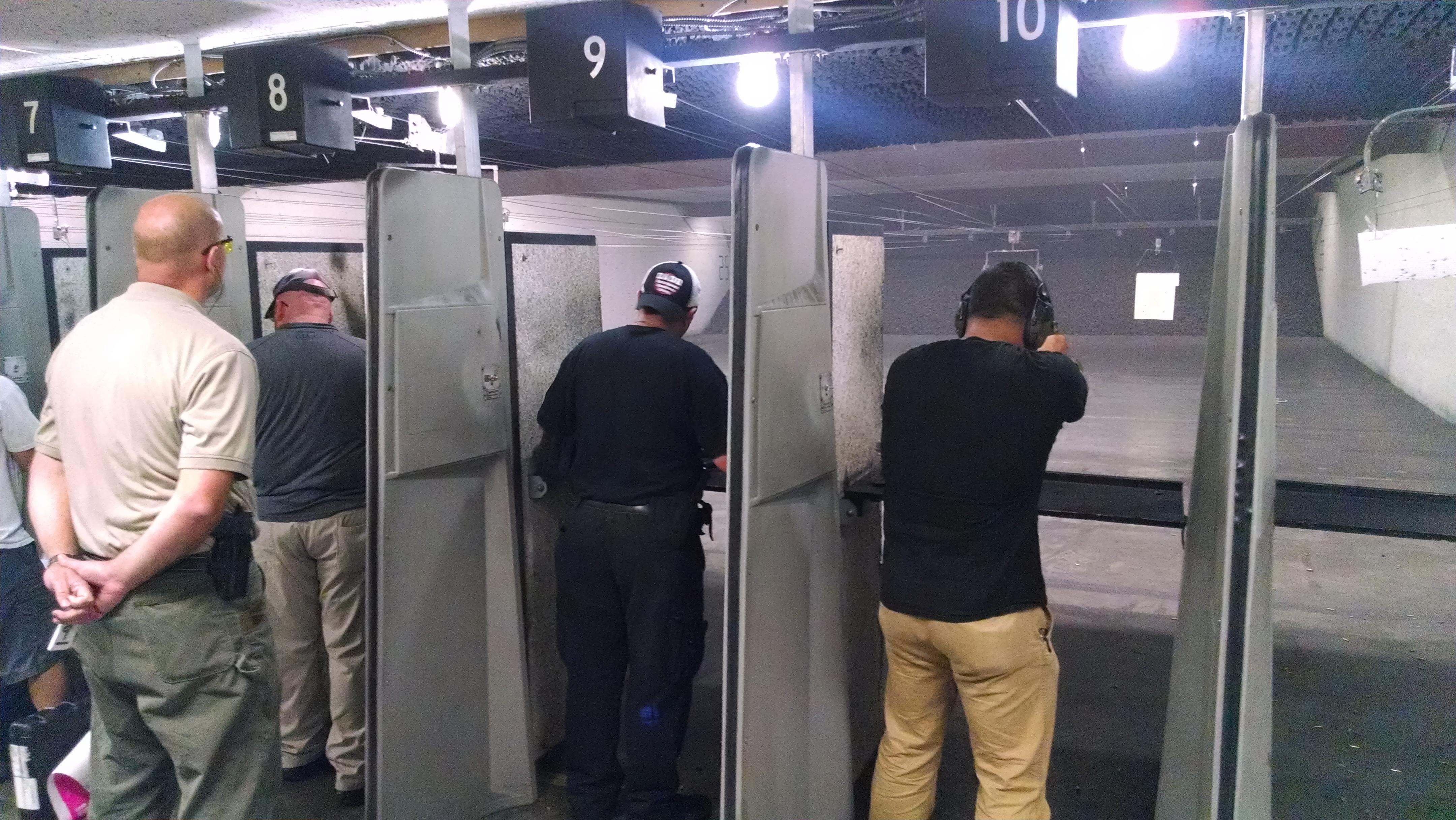 NRA Pistol Instructor Range Work